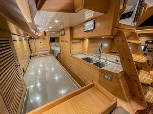 Bluewater 56 33 Galley looking aft