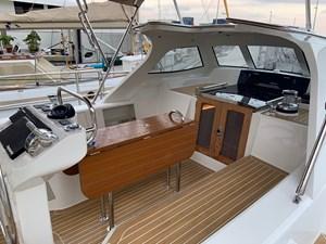 Bluewater 56 15 56 Cockpit