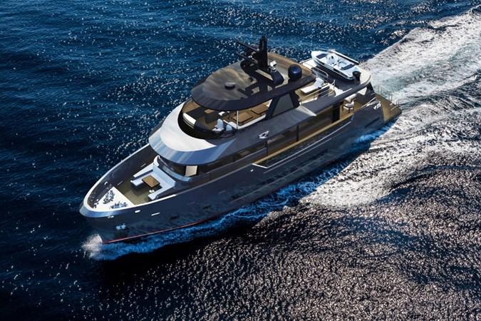 Bering 85 explorer yachts