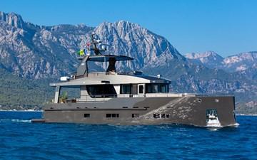 Bering B70 2022 0 Bering B70 explorer yacht