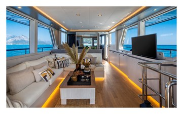 Bering B70 2022 15 Bering B70 explorer yacht Interiors