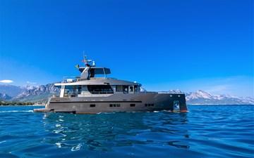 Bering B70 2022 23 Bering B70 explorer yacht