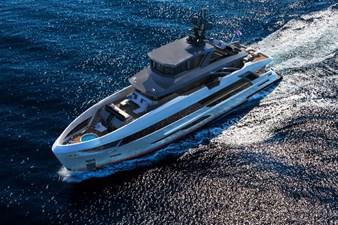 Bering B117 explorer yacht