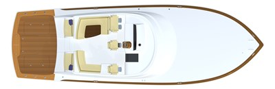 2022 VIKING 54 SPORT COUPE (TBD) 3 Deck Layout
