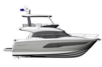 PRESTIGE-420---Profil---Hard-top---Grey-hull--800px
