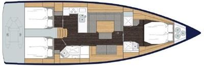 2021 Bavaria C45 Style 16 17