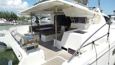 BLOW FISH Fountaine Pajot Saba 50 2015 Cockpit