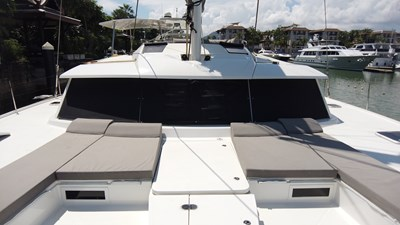 BLOW FISH Fountaine Pajot Saba 50 2015 0 Bow seating