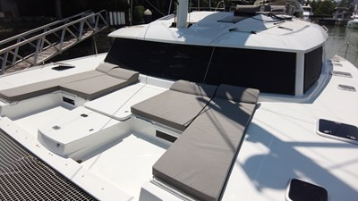 BLOW FISH Fountaine Pajot Saba 50 2015 Bow seating