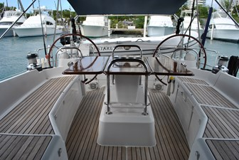 Cockpit and helm