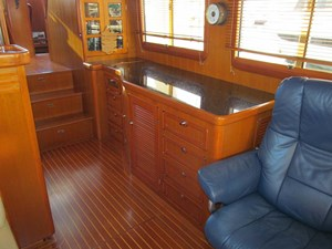 Salon and Galley Cabinet Starboard Forward