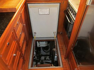 Galley Access to Engine Room