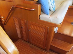 Pilothouse Storage and Icemaker