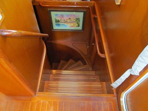 Pilothouse to Staterooms Steps