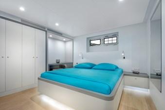 10. Big Joy. Double guest cabin blue