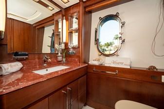 VIVERE 15 Queen Guest Stateroom Bath (Port side)