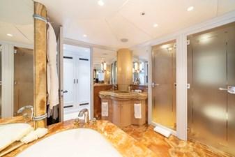 MOSAIQUE 24 Master Bathroom: MOSAIQUE 163'  2002/2020 Proteksan Tri-Deck Motor Yacht