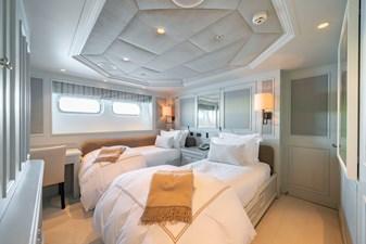 MOSAIQUE 33 Guest Stateroom 4 Twin: MOSAIQUE 163'  2002/2020 Proteksan Tri-Deck Motor Yacht