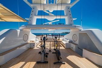 MOSAIQUE 9 Sun Deck Exercise: MOSAIQUE 163'  2002/2020 Proteksan Tri-Deck Motor Yacht
