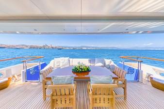 MOSAIQUE 14 Main Deck Aft: MOSAIQUE 163'  2002/2020 Proteksan Tri-Deck Motor Yacht