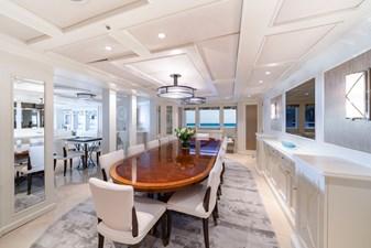 MOSAIQUE 19 Dining Room: MOSAIQUE 163'  2002/2020 Proteksan Tri-Deck Motor Yacht