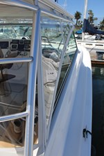 QUALITY TIME 13 New helm deck enclosure