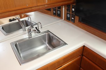 Stainless sink with InstaHot