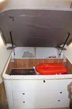 Master berth under-bed stowage