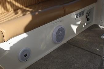 New helm deck speakers
