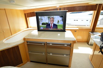 Galley - Additional Refrigeration and Pop Up TV
