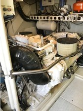 Starboard MTU Engine