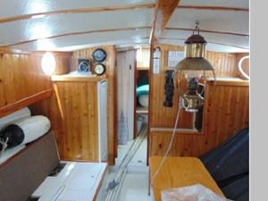 Main Cabin and Brass Lantern
