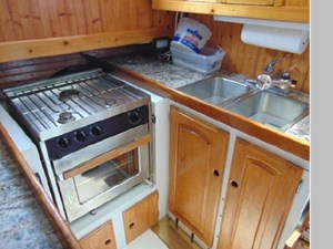 Galley Stove and Sink
