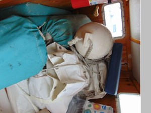 Aft Cabin Area Now Sail Storage