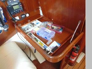 Eccentricity  41 Nav Station Desk Storage