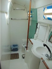 Eccentricity  55 Aft Cabin Head and Shower