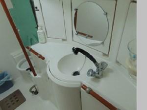 Eccentricity  57 Aft Cabin Sink Area