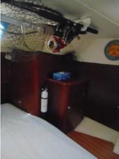 Eccentricity  59 Aft Cabin Rod Storage