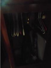 Eccentricity  60 Aft Cabin Hanging Closet
