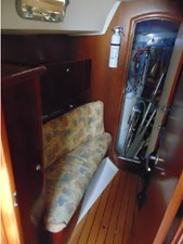 Eccentricity  73 Forward Cabin Settee