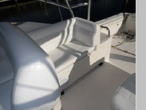 Cockpit Seating Behind the Helm