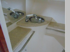Sink and Shower Head