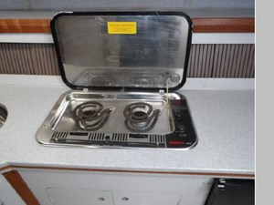 Combination Electric and Alcohol Cook Tops