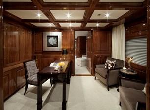 Owner's Stateroom Desk Area