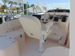 Captain's Chair and Helm