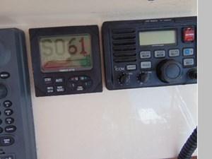 Ram Sea 30 DAuto Pilot and Icom VHF