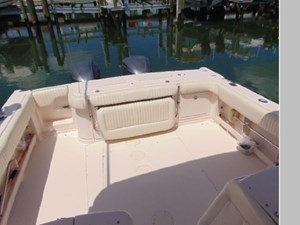 Transom Seat and Cockpit