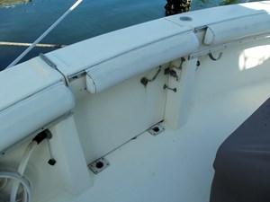 SEA HAWK 23 Walk Thru Transom Door