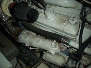 SEA HAWK 34 Port Engine