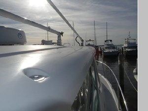 Outriggers and VHF Antennae